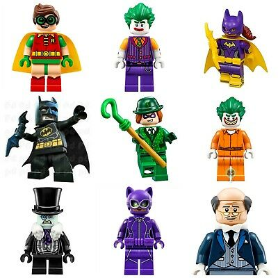 Batman Custom Robin Movie Super Hero Mini Figures Catwoman Penguin Joker Batgirl • 3.49£