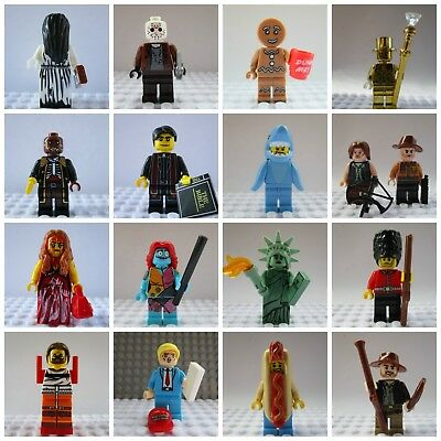 Marvel Movie Horror Mini Action Figures Chucky,Hannibal,Pennywise,Carrie,toy • 6.49£