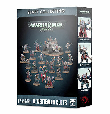 Start Collecting Genestealer Cults - Warhammer 40k - Games Workshop - New • 50.79£