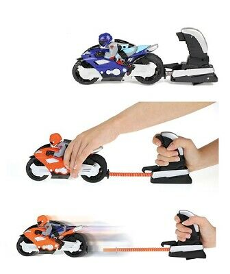 Motorcycle Launcher Playset Launch And Go Motorbike Toy Gift Fun Boys Race  • 9.79£