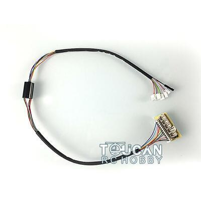 ElectricSlip Rings For Big Small 360° Rotating Gear 1/16 RC Henglong 6.0 Tank • 23.90£