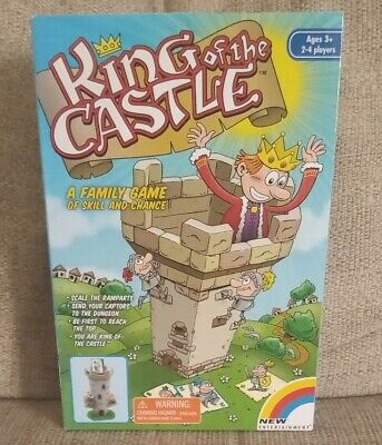 King Of The Castle Family Game New/Sealed Age 3+ 2-4 Players • 9.55£