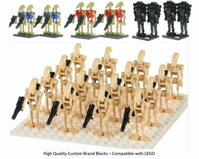 Droid Army Mini Figures LEGO Star Wars Droid Clones Qty 4 - 100 Battle Droid UK • 34.95£