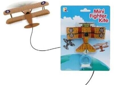 Mini Fighter Kite Set Up And Ready To Fly Various Shapes  • 1£