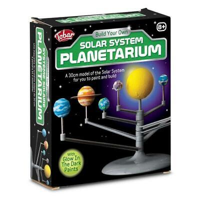 Glowing Solar System Planetarium Model Kit Kids Educational Project • 11£