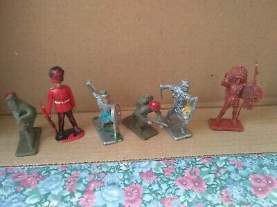 Vintage Crescent  Soldiers Mixed ;Lot X 6 • 5£