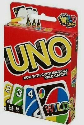 `UNO Card Game 112 CARDS Great Family Fun Party Game UK Seller FAST DELIVERY  • 3.99£