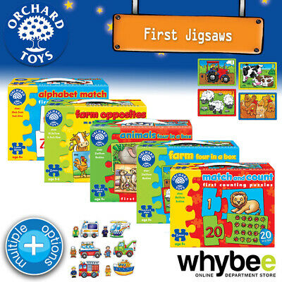 Orchard Toys 3yrs+ First Jigsaw Puzzles Fun Learning Educational Kids Children • 6.61£