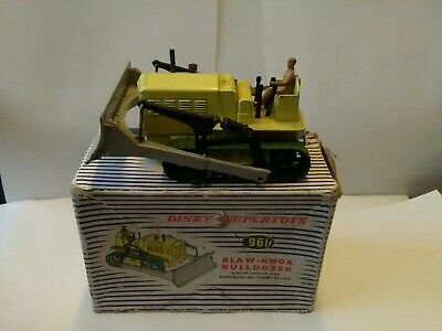 Boss Knox Bulldozer Vintage Rare Original Farm Tractor Dinky Super Toy Boxed • 49.99£