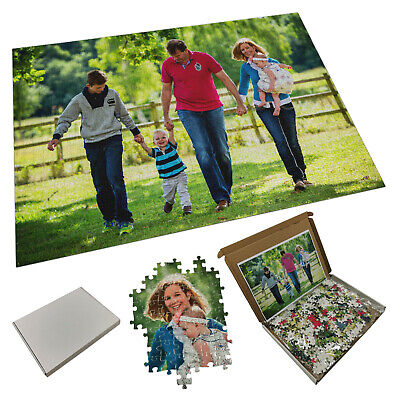 Personalised 1000 Piece Jigsaw Puzzle Any Image & Text - Brand New • 24.99£