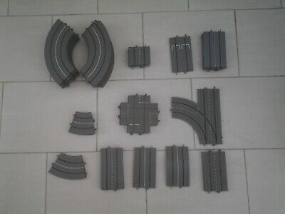 48 Pieces Of  Grey Tri-Ang Minic Motorways Track • 70£