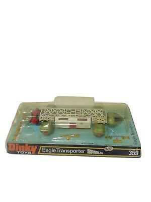 Vintage Dinky Toys No. 359 Space 1999 Eagle Transporter Boxed Gerry Anderson • 139£