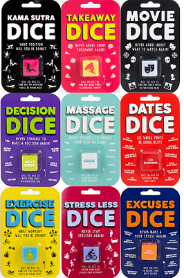 Novelty Decision Dice Die Random Choice Perfect Fun At Home Gift Perfect Present • 4.99£