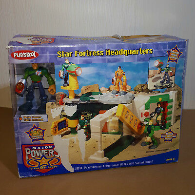 Vintage Playskool Major Powers & The Star Squad Star Fortress HQ Contents Sealed • 29.99£