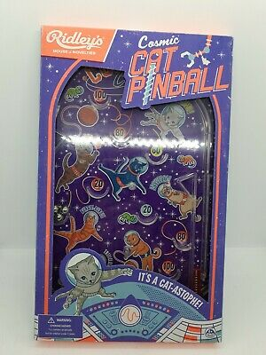 Ridley's Games Cosmic Cat Pinball Game Toy UK SELLER  • 17.99£
