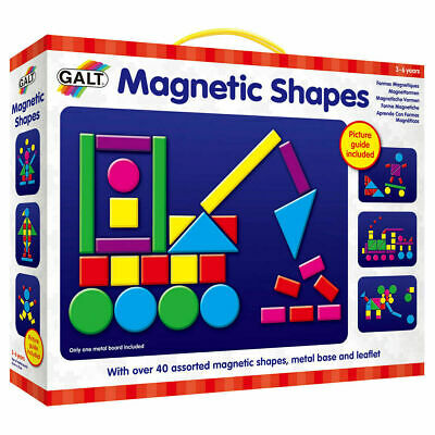 Galt Toys Kids Play And Learn Magnetic Shapes - FREE & FAST DELIVERY • 8.50£