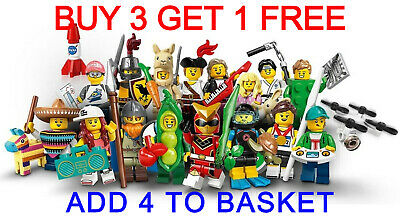 LEGO 71027 SERIES 20 MINIFIGURES (Pick Your Minifigure) Buy 3 Get 1 Free!! • 64.95£