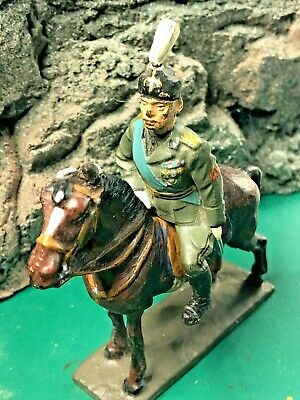 Vintage Lineol 7.5cm Composition Horse And Italian Soldier  • 135£