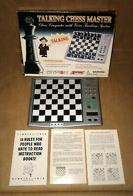 Talking Chess Master Systema Chess Computer Voice Teaching System *No Pieces* • 19.99£