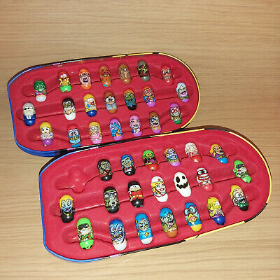 Ja Ru And Moose Mighty Beanz 41pc Collection In Captain Bean 2010 Collectors Tin • 49.99£