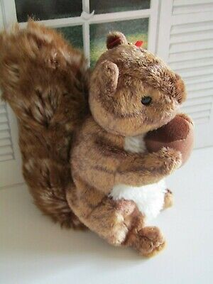 TY Beanies Nutty The Squirrel - Mint Condition With Tags Retired 2002  • 4.99£
