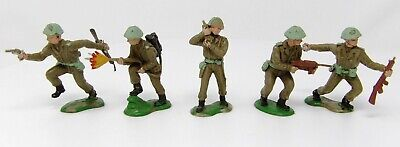 Vintage Crescent WW2 British Near Full Set. 60mm Range. • 19.99£
