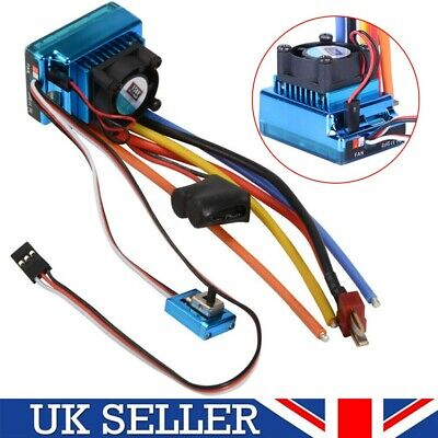 Brushless 120A ESC Speed Controller Part For 1/10 1/8 RC Car Truck Model Boat UK • 14.95£