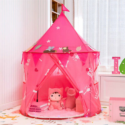 Kids Play Tent Portable Toy Game House Children Castle For Indoor Outdoor Fun • 22.98£