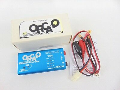 ORCA Q Mini 2S 10-15 DC LiPo Balance Pocket Charger, 5A Charge Rate - OQC2500B • 22.95£