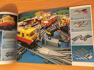 Vintage Lego Catalogue Leaflet 1981 - Good Condition :) • 6£