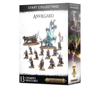 Start Collecting! Anvilgard - Age Of Sigmar - Games Workshop - New • 50.99£