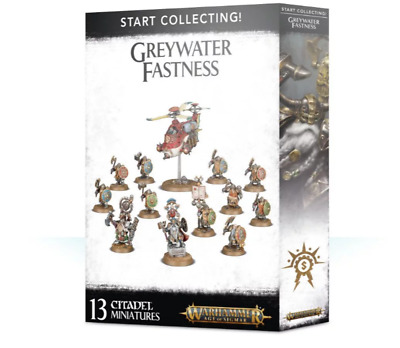 Start Collecting! Greywater Fastness - Age Of Sigmar - Games Workshop - New • 50.99£