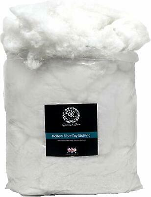 1000g / 1kilo Super Soft Virgin Hollowfibre For Filling, Stuffing Toys,Cushions • 7.49£