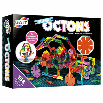 Galt Toys Construction Super Octons - FAST & FREE DELIVERY • 18.99£
