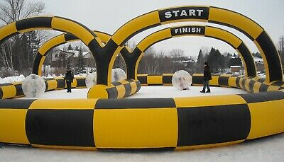 Inflatable Quad Go Kart Track Business Commercial Brand New  • 999£