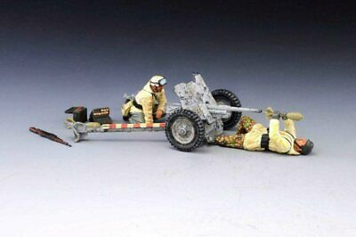 Thomas Gunn SS036A German Pak 36 Winter WWII With Two Crew Finished Model • 74.95£