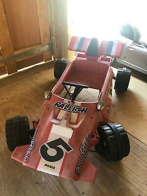 Red Raleigh Racing Car Collectable Children's Size Model Car - Pedal Operated • 95£