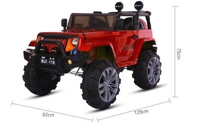 Electric Toy Car 12v Electric Remote Control Car Jeep Extream 2 Seater Mp3 Toy • 165£