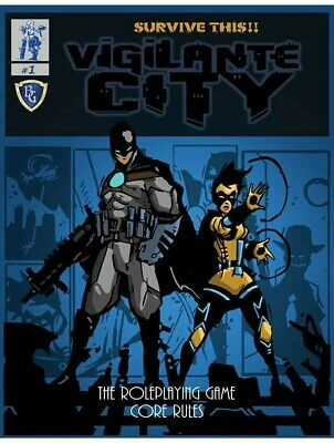 Survive This!! Vigilante City The Roleplaying Game Core Rules RPG • 21.99£