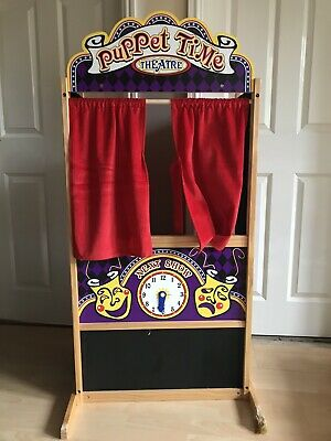 Melissa And Doug Puppet Theatre • 40£