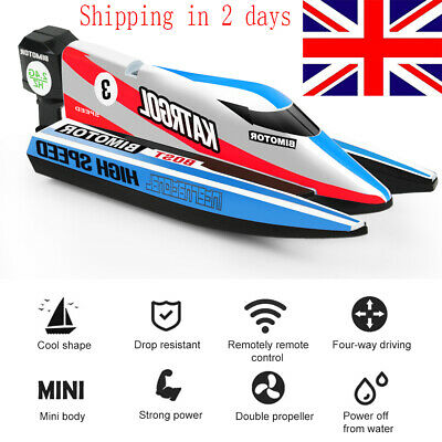 Remote Control High Speed Boat RC Racing Outdoor Kids Toys For Pool River • 17.79£