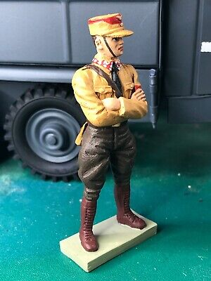 Lineol Of Germany 7.cm / 1/24' SA Soldier Folded Arms • 48.50£