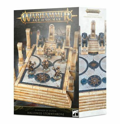 Dominion Of Sigmar Hallowed Stormthrone - Age Of Sigmar - Games Workshop - New • 50.79£