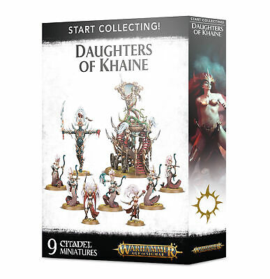 Start Collecting Daughters Of Khaine - Age Of Sigmar - Games Workshop - New • 46.99£