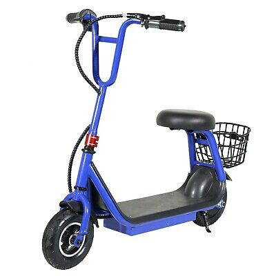 250w 24v Brushless 2-speed Lithium Powered M8 Kids Electric Scooter - Blue • 199.95£