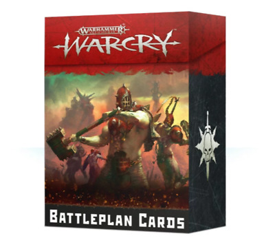 Warcry Battleplan Cards - Age Of Sigmar - Games Workshop - New • 14.19£