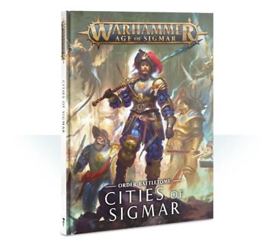 Battletome Cities Of Sigmar - Age Of Sigmar - Games Workshop - New • 23.99£