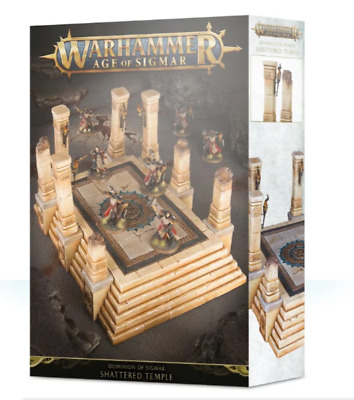 Dominion Of Sigmar Shattered Temple - Age Of Sigmar - Games Workshop - New • 27.99£