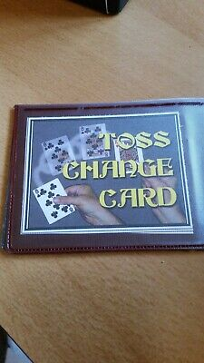 Toss Change Card • 6.50£