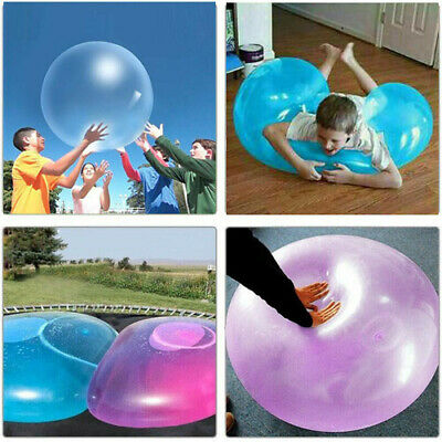 UK Bubble Ball Inflatable Large Water Balloons Outdoor 70cm Beach Balls Kids Toy • 6.99£